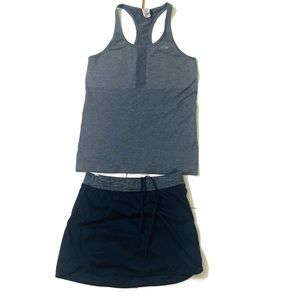 Champion Duo Dry Skort Tank Set Sz XS